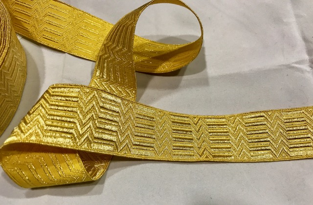 Galón dorado nº12 (30mm)