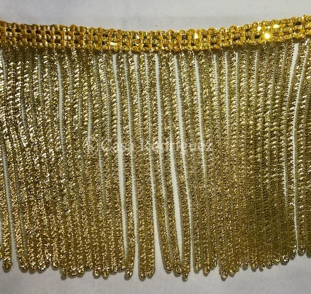 Fleco de canutillo de oro (11cms)