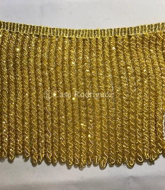 Fleco de canelón de oro (10cms)