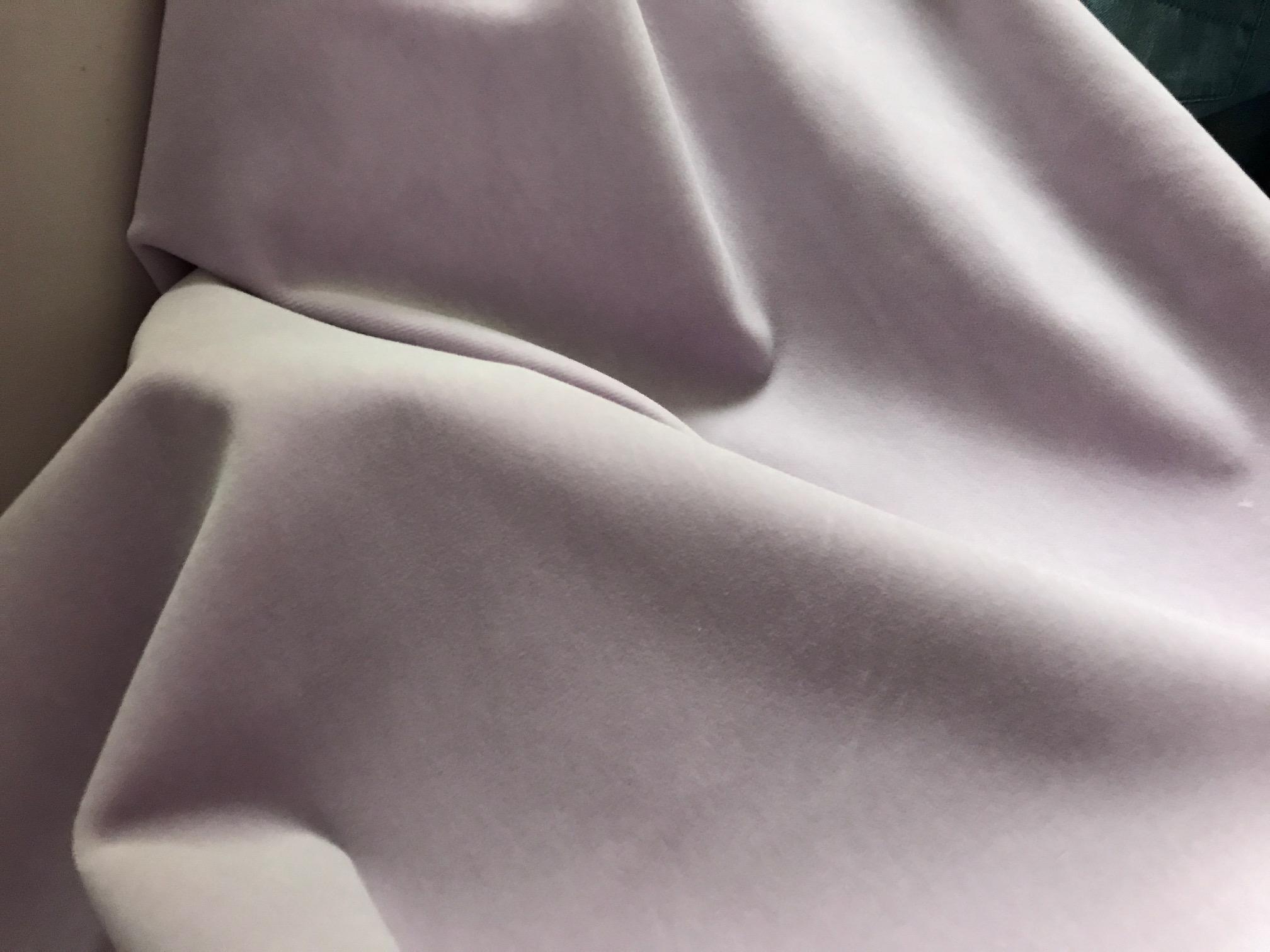 Terciopelo de algodón malva