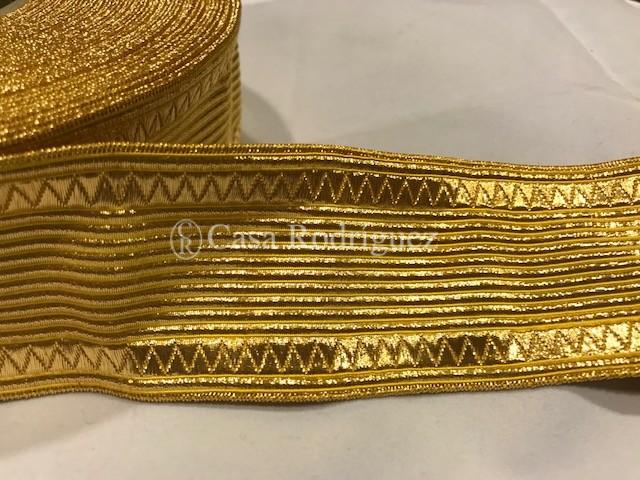 Galón dorado nº21 (50mm)