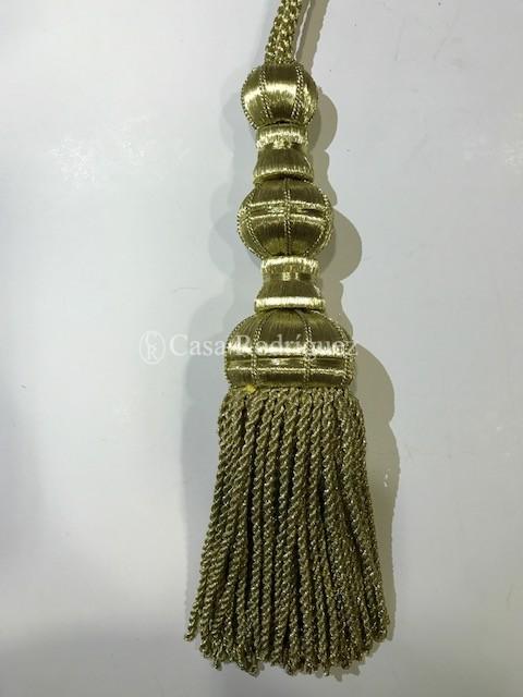 Borla dorada (25cms)