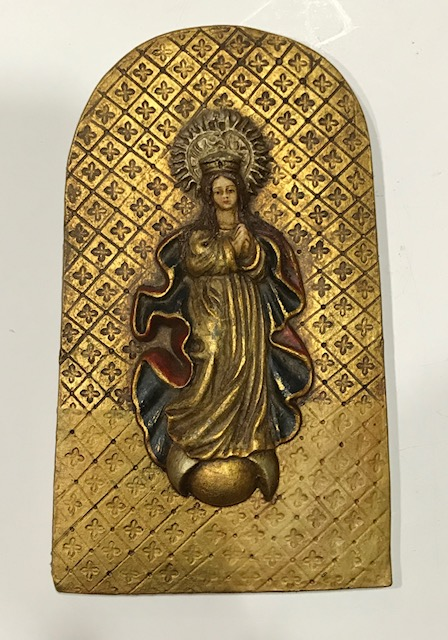 Inmaculada de colgar (18cmx11cm)