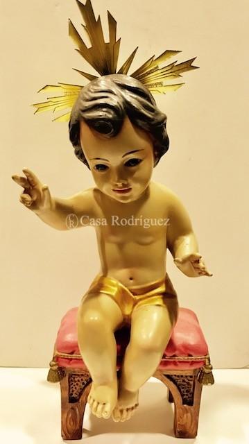 Niño Jesús sentado (30cms)