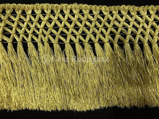 Fleco oro enrejado (13cms)