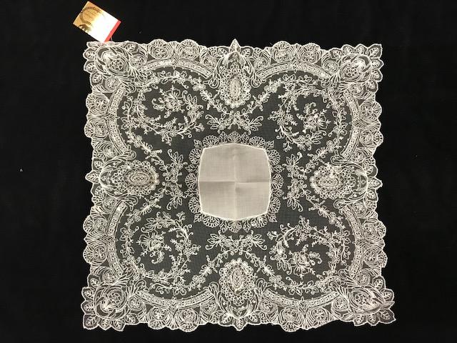 Pañuelo tul cristal blanco (0,38 x 0,38)