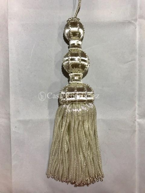 Borla 10/20 en plata (20cms)