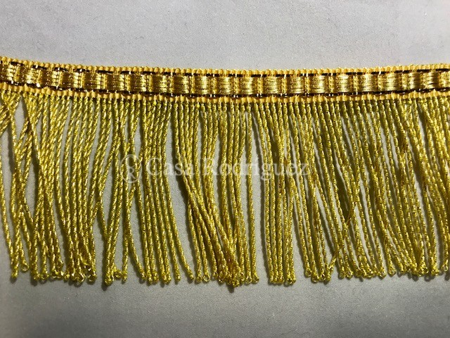 Fleco torcido en dorado (50mm)