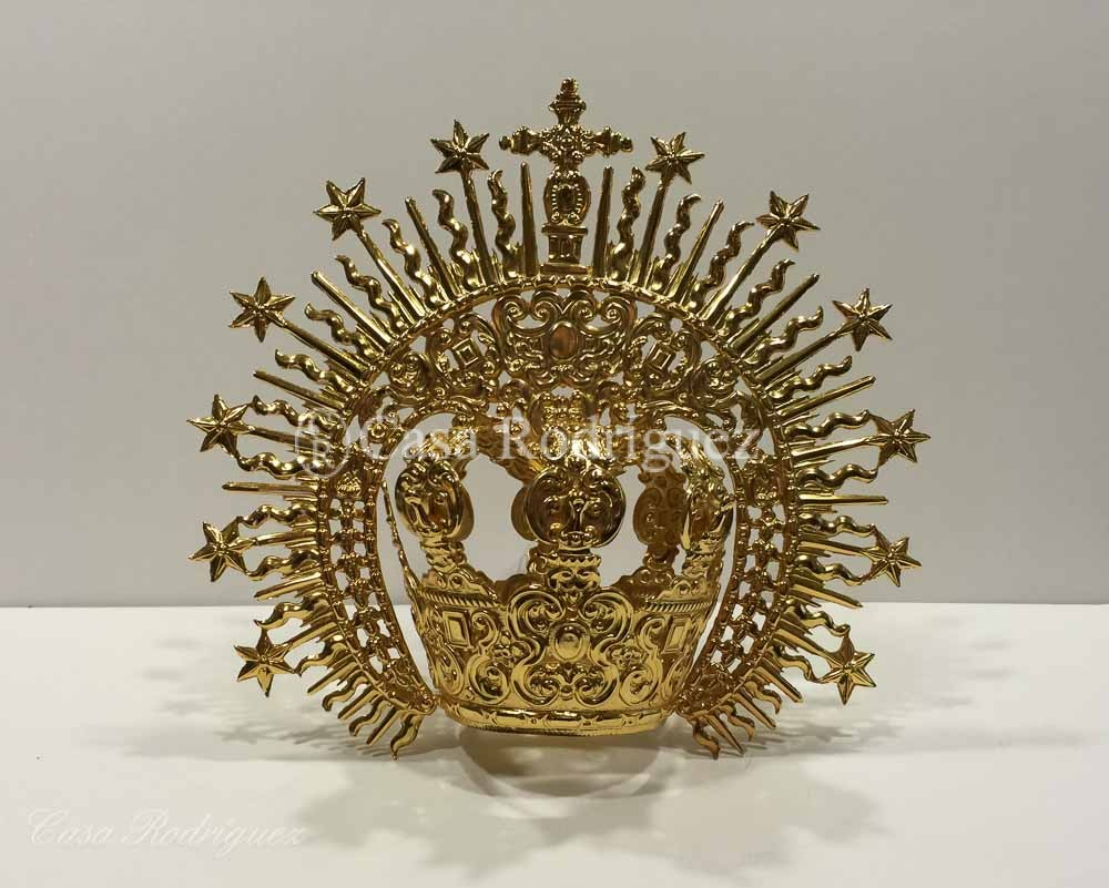 Corona dorada con imperiales