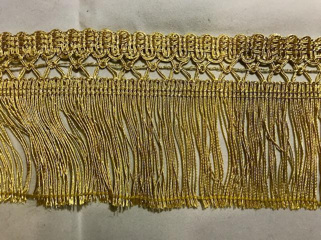 Fleco dorado con enrejado metálico (80mm)
