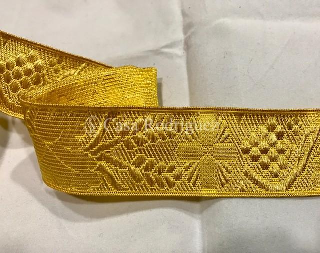 Galón dorado nº13 (35mm)