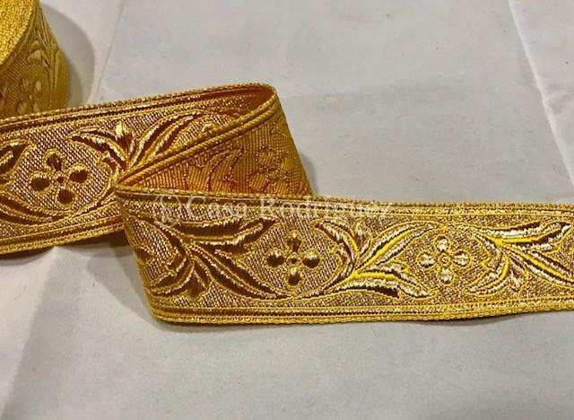 Galón dorado nº14 (35mm)