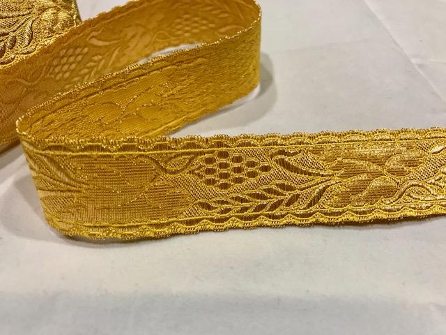 Galón dorado nº15 (27mm)