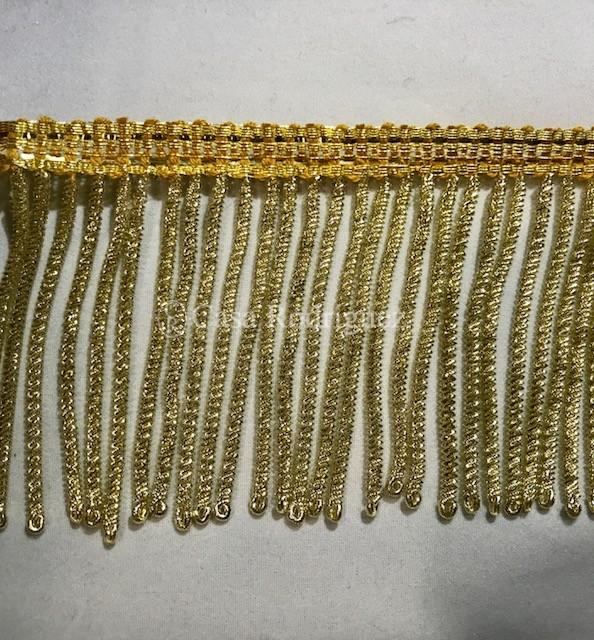 Fleco de canutillo de oro (70mm)