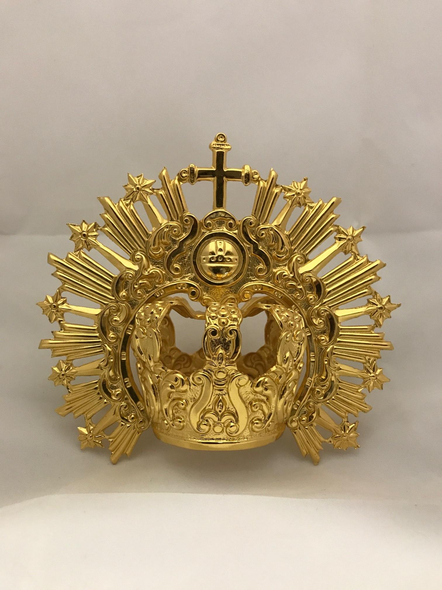 Corona imperial cincelada
