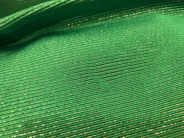 Tisú verde y oro
