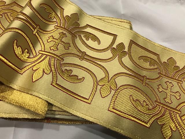 Galón dorado Perugia