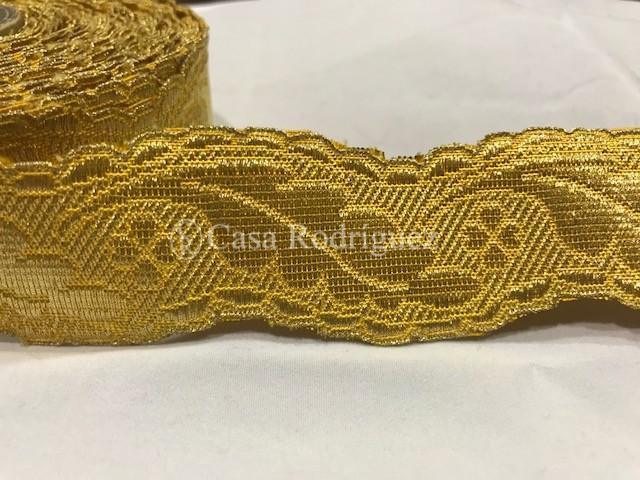 Galón dorado nº23 (40mm)