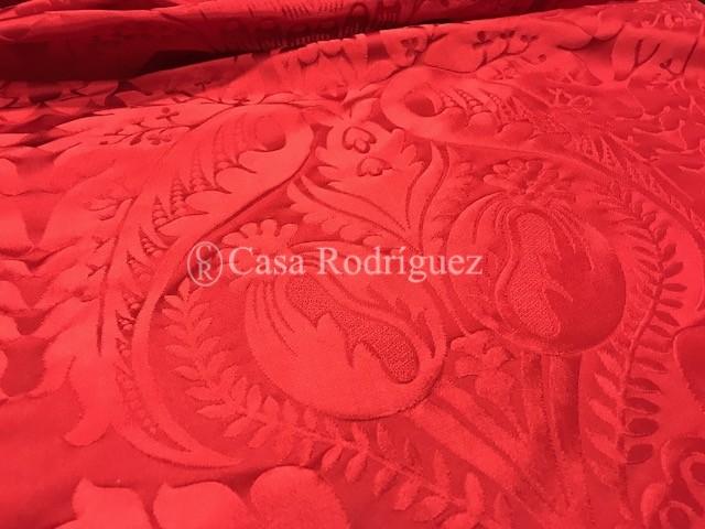 Damasco rojo granadas