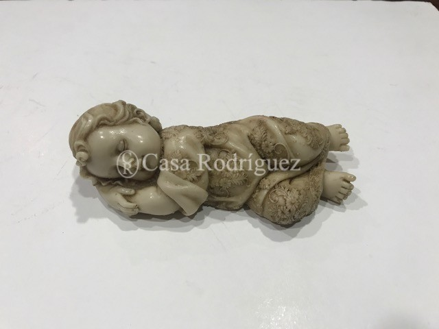 Niño Jesús resina (12cms)
