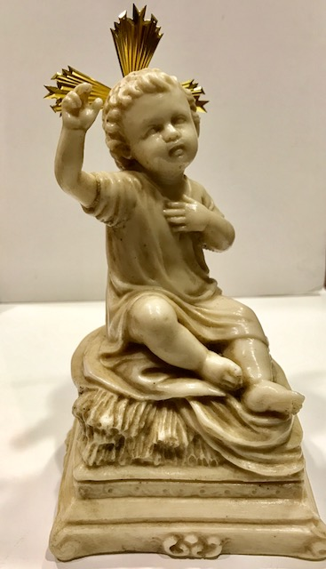 Niño Jesús sentado (18cms)