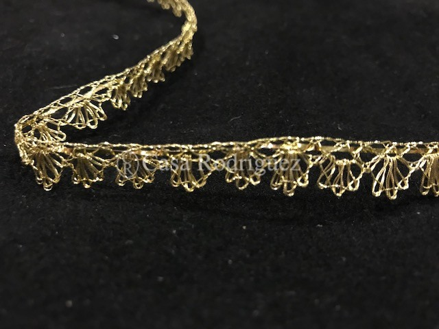 Encaje oro entrefino (10mm)