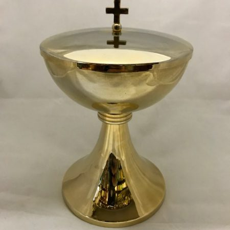 Copón dorado (18cms.) II