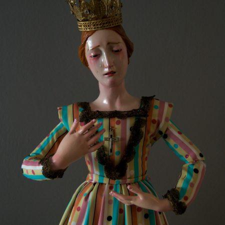 Virgen dolorosa de vestir