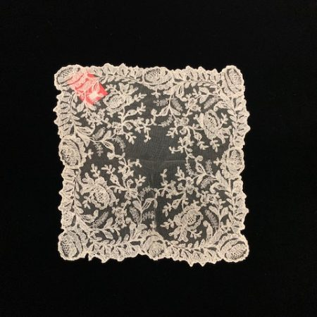 Pañuelo tul flores (30x30)