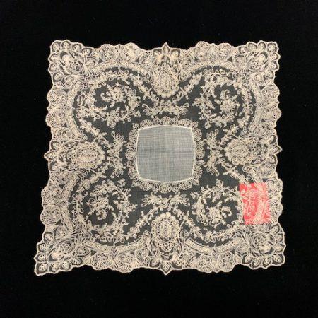 Pañuelo tul envejecido (30x30)