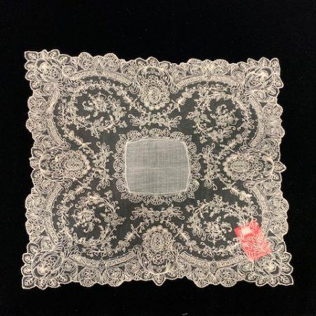 Pañuelo tul envejecido (40x40)