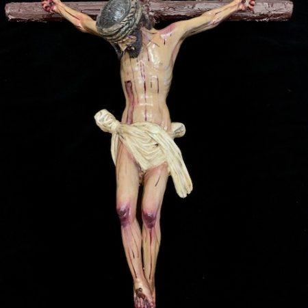 Imagen Cristo del Calvario barro